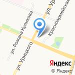 Лимпопо на карте Архангельска