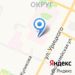 Детский травмпункт на карте Архангельска