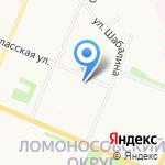 ТКМ на карте Архангельска