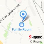 Брянский капитал на карте Архангельска