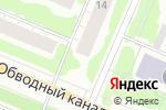 Схема проезда до компании Палема в Архангельске