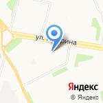 Галс на карте Архангельска