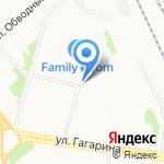 Магазин фруктов и овощей на карте Архангельска