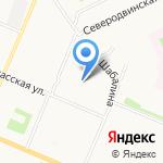 Ветерок на карте Архангельска