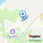Арпас на карте Архангельска