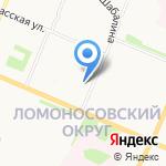 Воксел на карте Архангельска