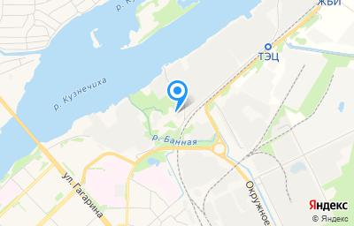 Местоположение на карте пункта техосмотра по адресу г Архангельск, ш Талажское, д 3
