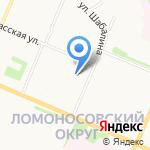 Государственный региональный центр стандартизации на карте Архангельска