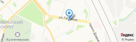 Аврора на карте Архангельска