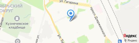 ДЮСШ №1 на карте Архангельска