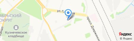 Здрава на карте Архангельска