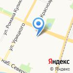 Технолайн на карте Архангельска