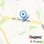 Герцог на карте Архангельска