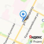 Адвокатский кабинет Фофанова А.Н. на карте Архангельска