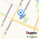 Винный лабиринт на карте Архангельска