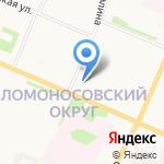 Учебно-производственная столовая на карте Архангельска
