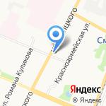 Elegant на карте Архангельска