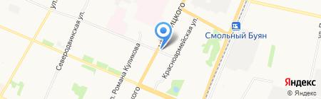 Баварские окна на карте Архангельска
