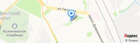 Магазин фруктов и овощей на ул. Тимме на карте Архангельска