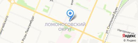 Бизнес-инкубатор на карте Архангельска