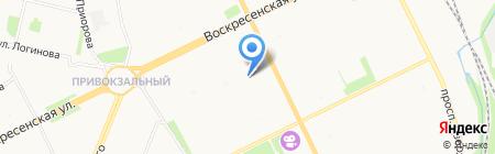 Детский сад №59 Белоснежка на карте Архангельска