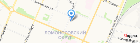 Финнколор на карте Архангельска