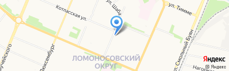 Нумера на карте Архангельска