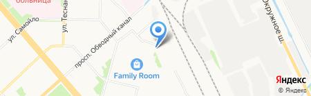 Дзержинский-29 на карте Архангельска