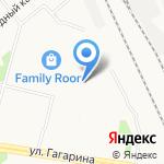 Мирославна на карте Архангельска