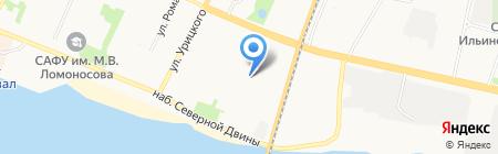 ФирОПС-Защита на карте Архангельска