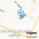 Ижемская на карте Архангельска