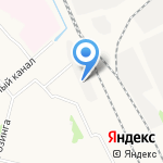 Автоцентр на карте Архангельска