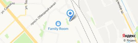Дзержинского 27 на карте Архангельска