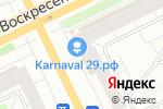 Схема проезда до компании Билайн в Архангельске