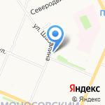 Lime на карте Архангельска