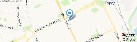 Банк Открытие на карте Архангельска