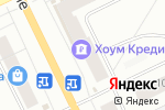 Схема проезда до компании Банк Хоум Кредит в Архангельске