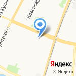 ИНВИТРО на карте Архангельска