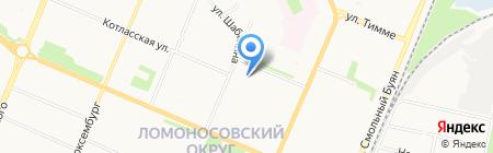 Приморский архив на карте Архангельска