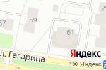 Схема проезда до компании Гагаринский в Архангельске