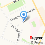 Люкс на карте Архангельска