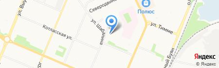 Лаборатория информационно-аналитических систем на карте Архангельска