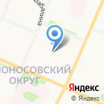 Гостиница на Обводном на карте Архангельска