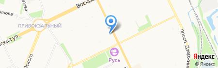 Марион - Плюс на карте Архангельска