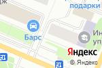 Схема проезда до компании Тонус+ в Архангельске