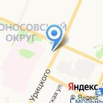 Евросеть на карте Архангельска
