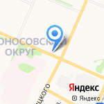 РосДеньги на карте Архангельска