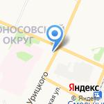 АППП на карте Архангельска