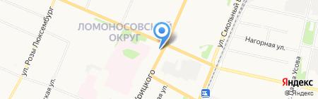 Киоск по продаже проездных билетов и выдаче социальных талонов на карте Архангельска