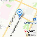 Снабженец на карте Архангельска